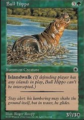 Bull Hippo (1) on Channel Fireball
