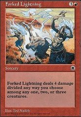 Forked Lightning on Channel Fireball