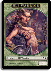 Elf Warrior on Channel Fireball