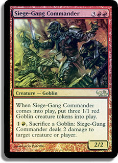 Siege-Gang Commander - Foil