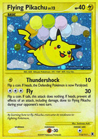Flying Pikachu - 113/111 - Secret Rare