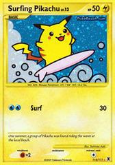 Surfing Pikachu - 114/111 - Rare Holo