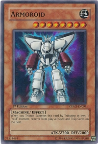 Armoroid - CRMS-EN099 - Super Rare - 1st Edition
