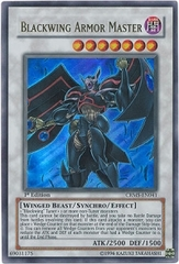 Blackwing Armor Master - CRMS-EN041 - Ultra Rare - 1st Edition