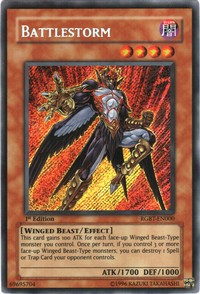 Battlestorm - RGBT-EN000 - Secret Rare - 1st Edition