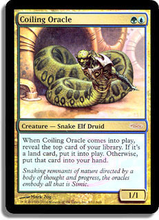 Coiling Oracle (Arena Foil)