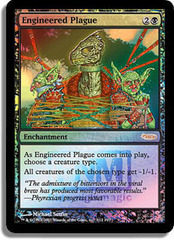 Engineered Plague - (FNM Foil 2007)