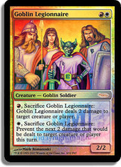 Goblin Legionnaire - Foil FNM 2007 on Channel Fireball