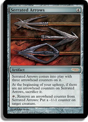 Serrated Arrows - Foil FNM 2008