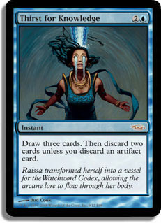 Thirst for Knowledge (FNM Foil)