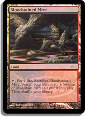 Bloodstained Mire - Foil DCI Judge Promo on Channel Fireball
