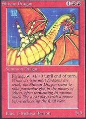 Shivan Dragon (Not Tournament Legal)