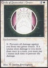 Circle of Protection: Green on Channel Fireball