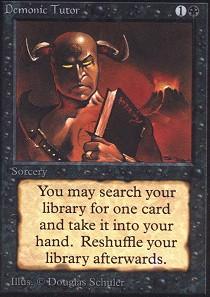 Demonic Tutor (Not Tournament Legal)
