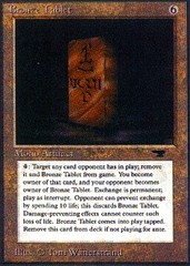 Bronze Tablet on Channel Fireball
