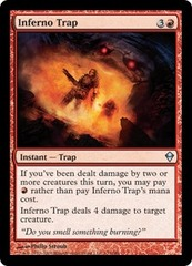Inferno Trap on Channel Fireball