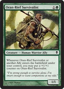 Oran-Rief Survivalist