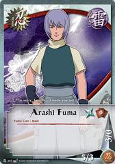 Arashi Fuma - N-303 - Common - 1st Edition