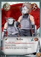 Anbu - N-082 - Super Rare - 1st Edition - Foil