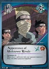 Appearance of Unknown Rivals - M-051 - Rare - 1st Edition