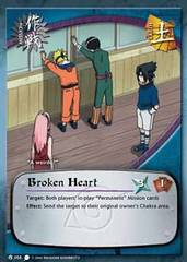 Broken Heart - M-058 - Common - 1st Edition