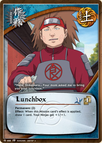 Lunchbox - M-466 - Uncommon - 1st Edition