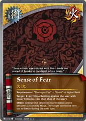 Sense of Fear - J-511 - Super Rare - 1st Edition - Foil