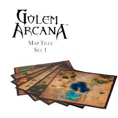 Golem Arcana Map Tiles (Set 1)