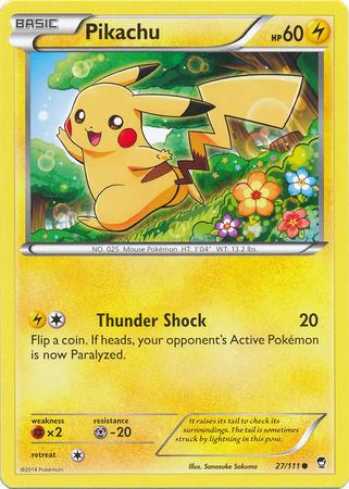 Pikachu - 27/111 - Common
