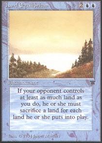 Land Equilibrium