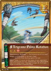 8 Trigrams Palms Rotation - J-US064 - Super Rare - 1st Edition - Foil