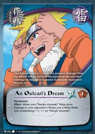 An Outcast's Dream - M-002 - Common - 1st Edition