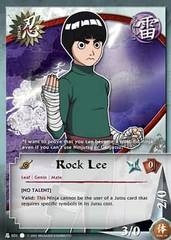 Rock Lee - Common - N-031 - Common - 1st Edition
