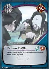 Seesaw Battle - M-033 - Common - 1st Edition