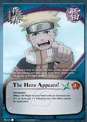 The Hero Appears! - M-025 - Uncommon - 1st Edition