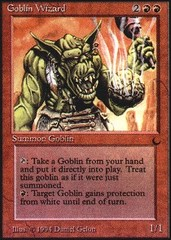 Goblin Wizard on Channel Fireball