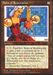 Balm of Restoration on Channel Fireball