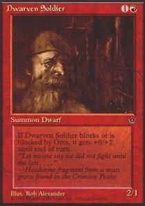 Dwarven Soldier (Alexander)