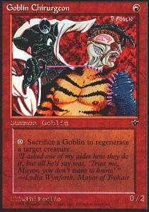 Goblin Chirurgeon (Foglio)