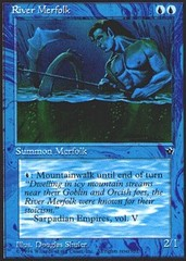 River Merfolk on Channel Fireball