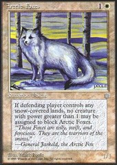 Arctic Foxes on Channel Fireball