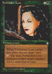 Forbidden Lore