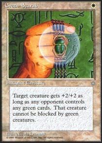 Green Scarab