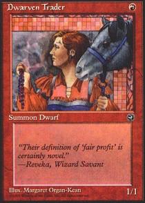 Dwarven Trader (Quote Reveka, Wizard Savant)