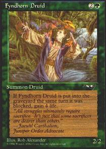 Fyndhorn Druid (Facing Left)
