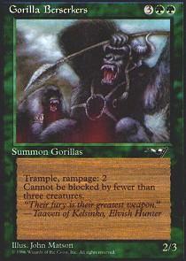 Gorilla Berserkers (Roaring)