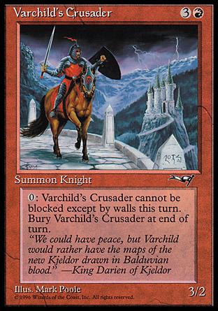 Varchilds Crusader (Brown Horse and Castle)