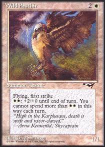 Wild Aesthir (Wings Thrown Back)