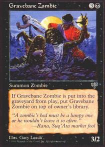 Gravebane Zombie