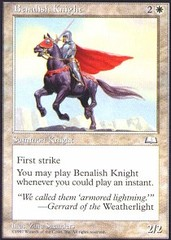 Benalish Knight on Channel Fireball